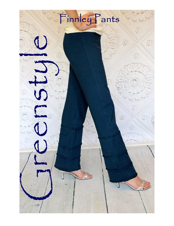 Finnley Pants PDF Sewing Pattern XXS to 3XL – GreenStyleCreations