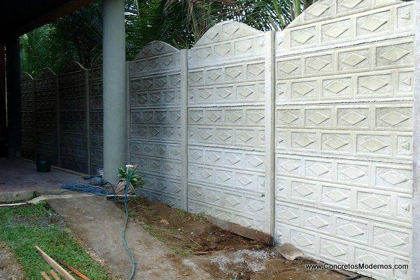 Concretos Modernos | Costa Rica Casas Prefabricadas y Tapias Decoradas en Variedad de Diseños