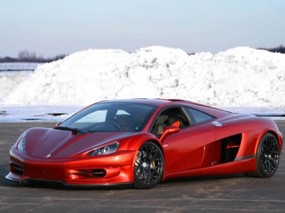 HTT Supercar Plethore LC-750 (2010) by Luc Chartrand.