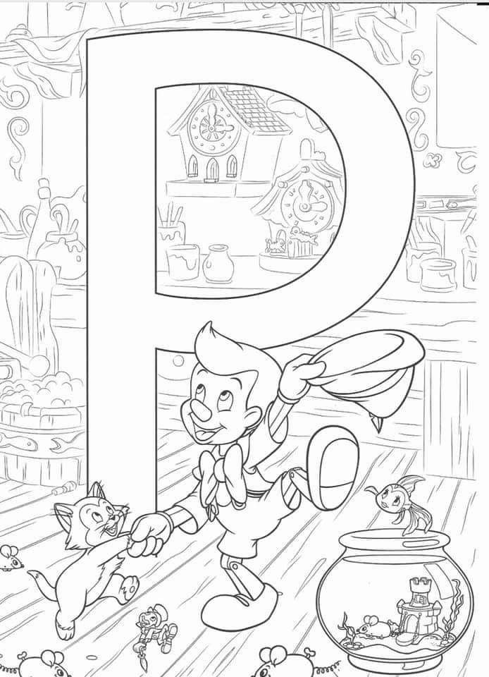 Pin By Rachel Knaub On A Ipad Coloring Abc Coloring Pages Disney Coloring Sheets Disney Coloring Pages