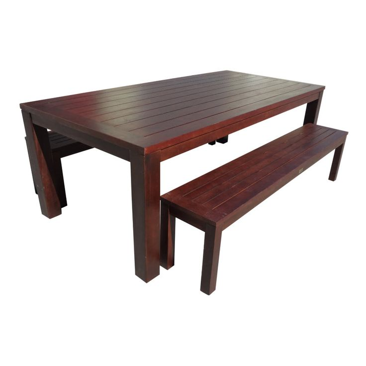 outdoor table with bench seats - Google Search