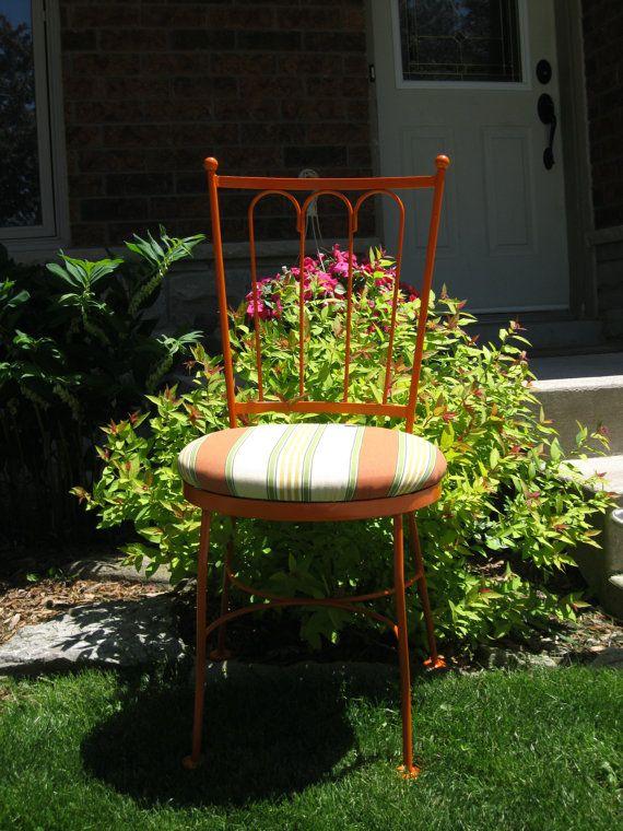 Vintage Wrought Iron Priscilla garden by VictorianRehabDesign, $175.00