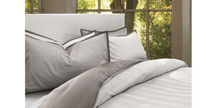 """Boston"" sheet set and duvet. #MadeinItaly #luxury #bed #bedding #bedlinens"