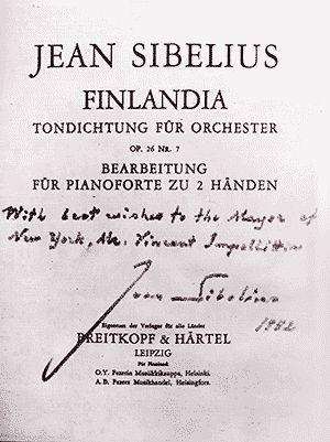 Finlandia (first edition)