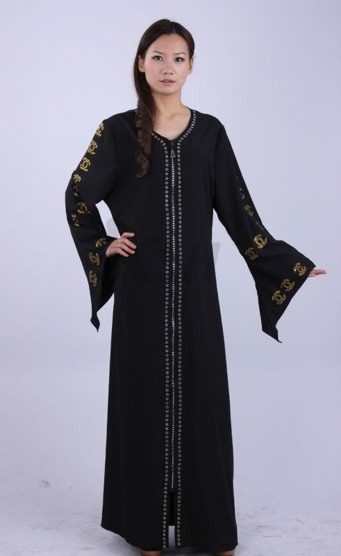 на складе кристаллический украшения черные исламские арабский абая-Исламская одежда-ID продукта:692320682-russian.alibaba.com