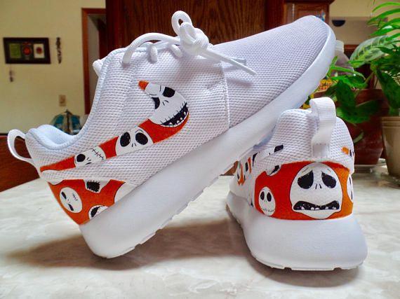 Christmas Shoes Nike.Nightmare Before Christmas Shoes Nike Roshe One Custom