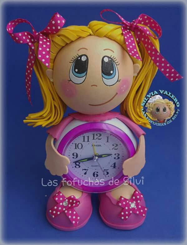 Fofu reloj niña