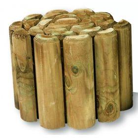Log Roll Edging - 1.8 metres long x 450mm high - Log Rolls