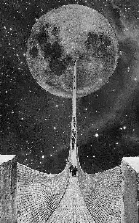 bridge to the moon.
