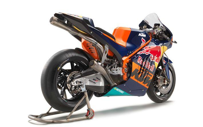 Download imagens KTM RC16, 2017, MotoGP, Motos novas, moto de corrida, KTM
