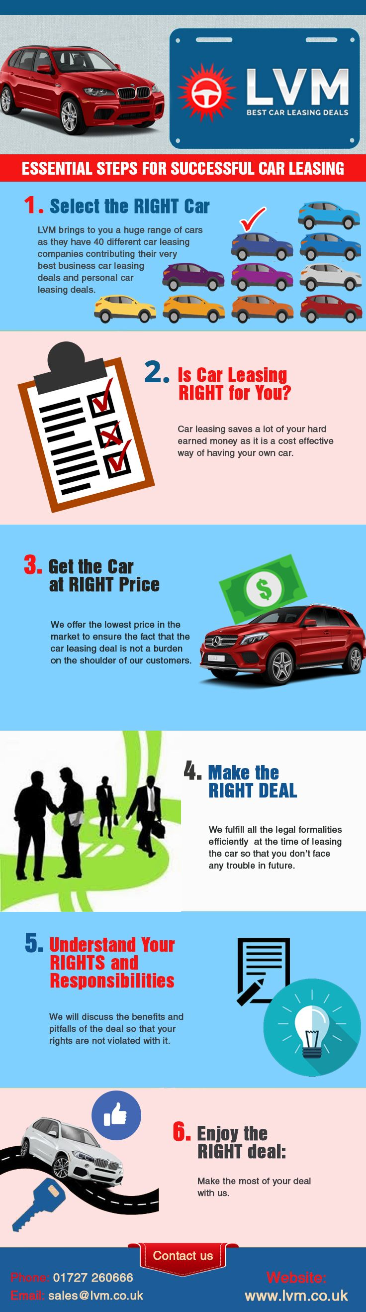 Taking a car on lease can be a great way of getting a new car or