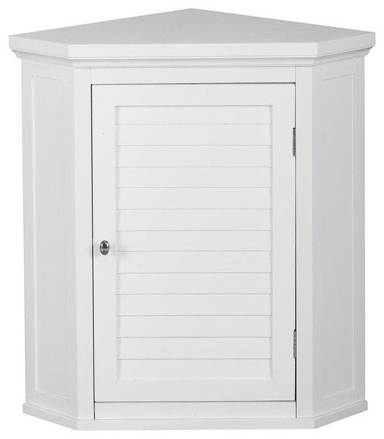 8 best corner cabinet images on pinterest corner - Corner wall cabinets for bathroom ...