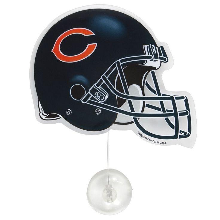 Chicago Bears - Helmet Fan Wave