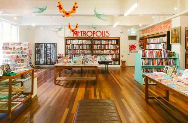 Metropolis Bookshop, Level 3 Curtin House, 252 Swanston Street Melbourne