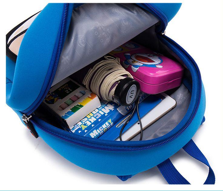 cute cartoon Neoprene other Children bag (blue)NHKX0013-blue