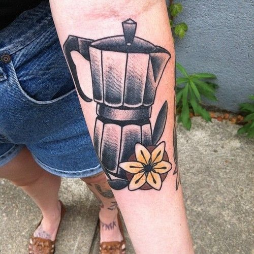 <b>Because the nectar of the gods deserves a permanent place on your body.</b> (And being hooked up 24/7 to an espresso IV seems kind of dangerous.)
