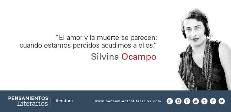 Silvina Ocampo. Sobre el amor y sobre la muerte.