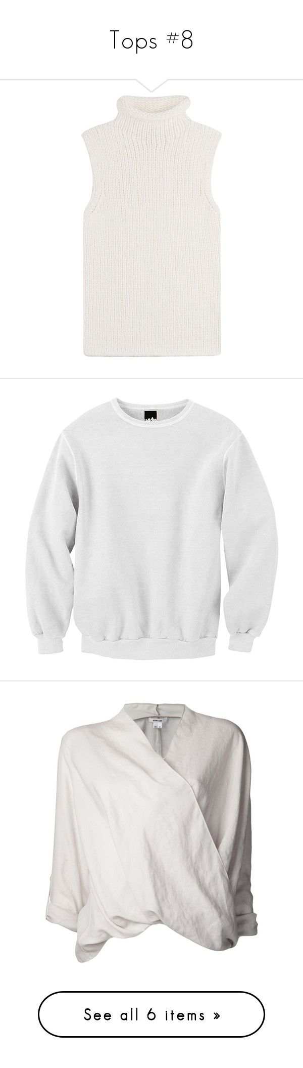 Tops #8 by marissa-91 on Polyvore featuring polyvore women's fashion clothing tops sweaters shirts tanks white white turtleneck shirt knit turtleneck sweater white sweater knit shirt white shirt hoodies sweatshirts jumpers print sweatshirt patterned tops print top mixed print top patterned sweatshirt blouses long sleeves grey blouse v neck long sleeve shirt 3/4 sleeve blouse gray long sleeve shirt polyester shirt h&m natural white lace sleeve top short sleeve lace blouse white blouse long…