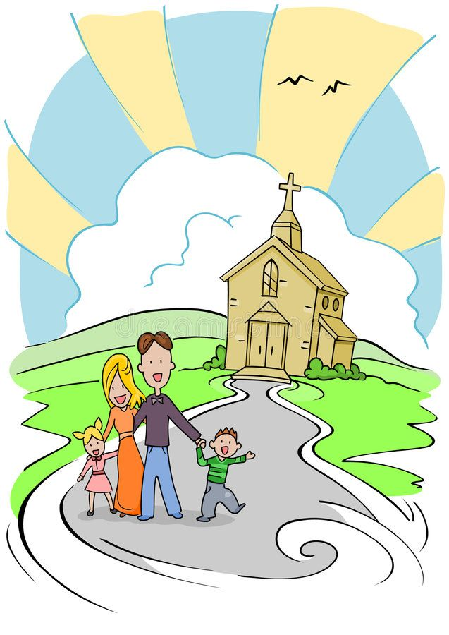 30+ Church Family Day Clipart