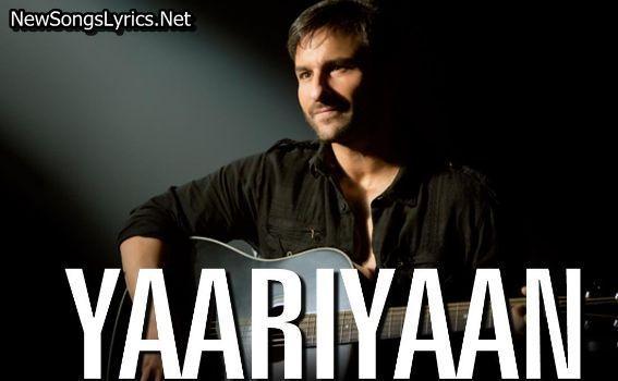 Yaariyan Song Lyrics Lirik Lagu Lirik Lagu