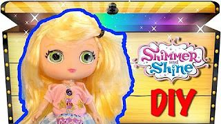Treasure Chest Surprise Toys - YouTube Make your own Shimmer and Shine Dolls. In this fun video - we show you how to make your own Leah Doll from Shimmer and Shine.  #diydolls Make you own Leah Doll from Shimmer and Shine. #DIYShimmerandshine #shimmerandshinetoys