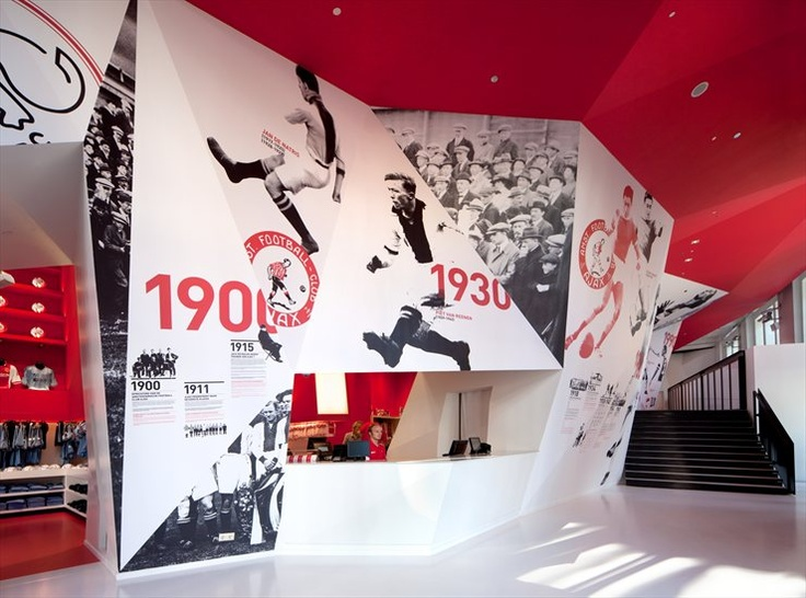 #AJAX EXPERIENCE by Sid Lee Architecture #architecture #retail #amsterdam