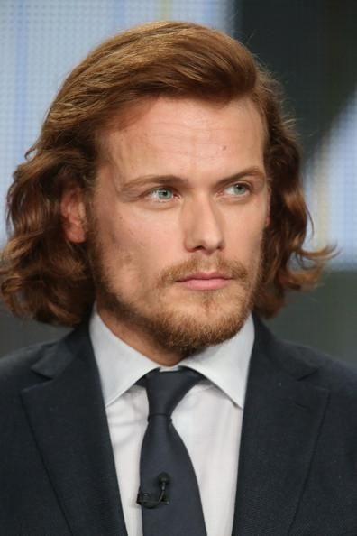 Sam Heughan is the perfect Jamie Fraser.