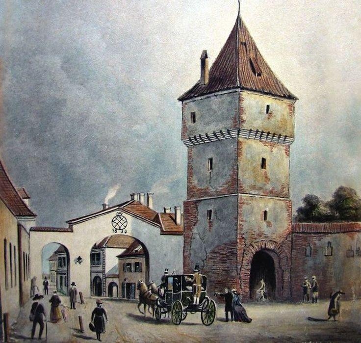 Böbel - Poarta Sag la 1858