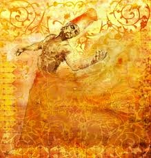 So in love with this image.... I would really like it as a tattoo... over my whole body.  (I have no tattoos btw) - Fire Dervish (my name for it since I've never found its name) via hatefsvoice.wordpress.com