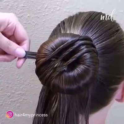 A wide range of bun hairstyles you can try out!