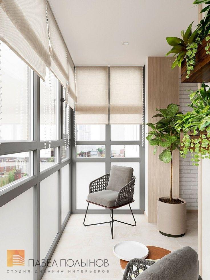 Фото лоджия из проекта «Дизайн-проект квартиры 72 кв.м., ЖК «Дом на Выборгской», современный стиль»