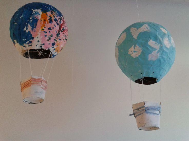 SYDÄMESTÄ SORMENPÄIHIN: kuumailmapallo
