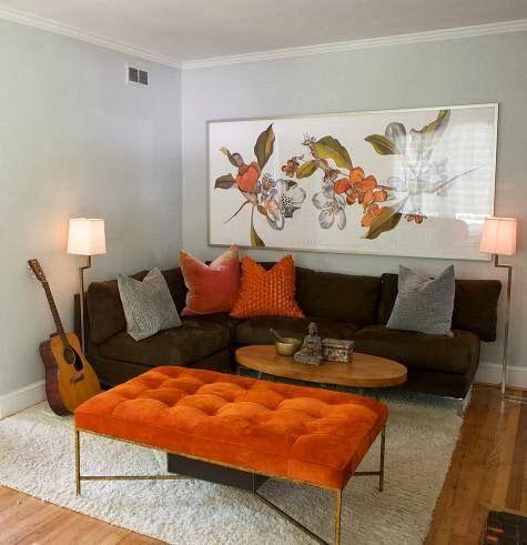 Arredare con l'arancione. speciale halloween Â« architettura e ...
