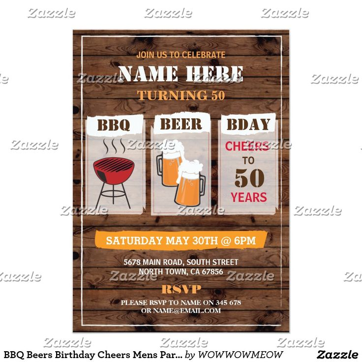 839 best Adult Birthday Invitations by age images on Pinterest ...