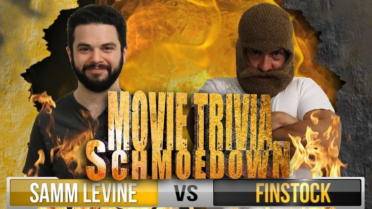 """""""Freaks and Geeks"""" star Samm Levine knocks-out guy in beard mask at movie trivia."""