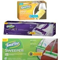Swiffer refill cloths can clean more than you might think!  Here are some tips for getting the most use from your Swiffer refill cloths.