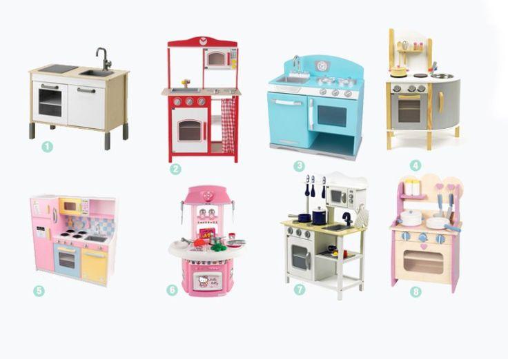 Speelgoed: houten keukens - ministijl