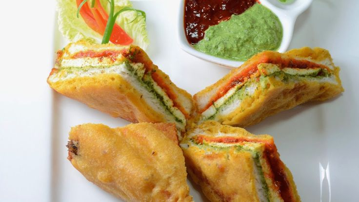 #Indian #Bread #Pakora is #snacks #Recipe from You n Mine Recipes.