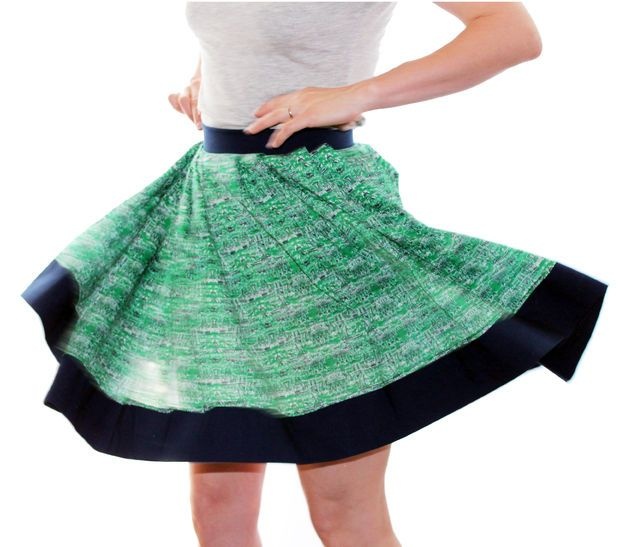 How to make a pleated skirt!