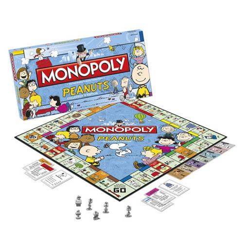 Jouer au Monopoly avec sa famille près d'un feu en fin de soirée? Magie. Ajouter l'univers de Peanuts à tout ça? Magie magie!