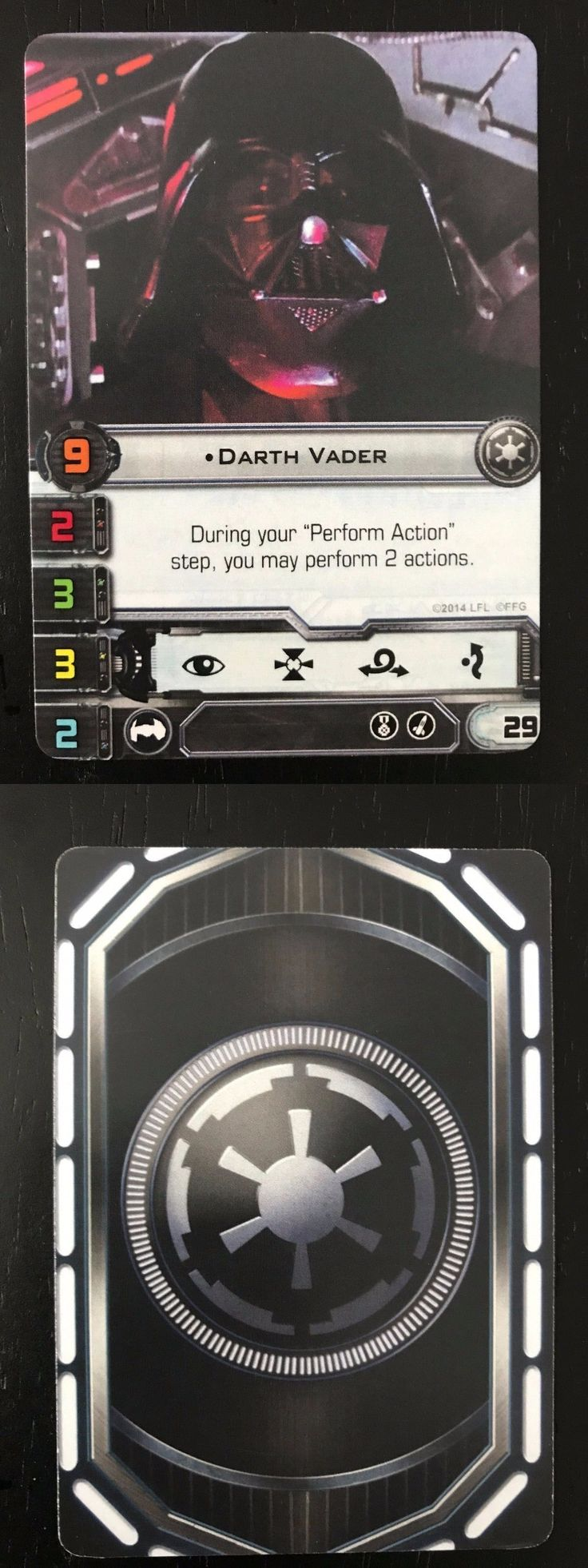 Other Star Wars Mini Games 158727: Star Wars X-Wing Darth Vader Promo 2014 World Championship (Ffg Worlds) -> BUY IT NOW ONLY: $75 on eBay!