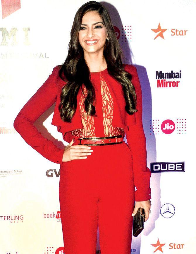 Sonam Kapoor at the MAMI Movie Mela.