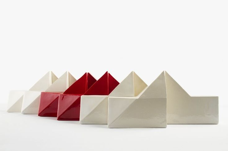 Creative Building Blocks  Red and White