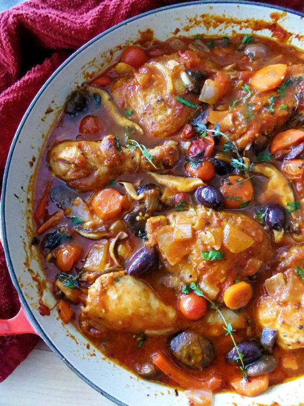 It's a Chicken Cacciatore Kind of Day! - Proud Italian Cook