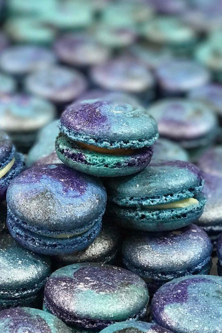 Galaxy Macarons Are an Out-of-This-World Dessert You Need ...