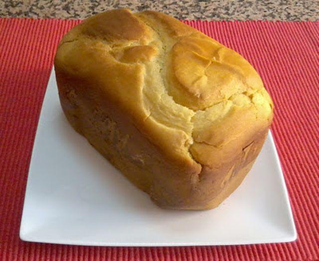 Pan de leche y miel - panificadora