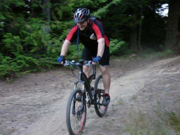 Mountain Biking on EPX Terrashark