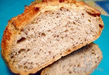 Mákos kovászos kenyér