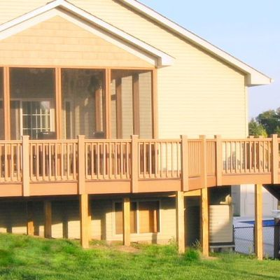 Custom screened porch & deck Plymouth, MN 3 - Design Ideas - Archadeck