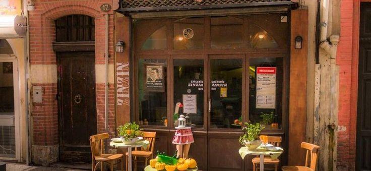 Le Zinzin est une crêperie restaurant végétarien  Zinzin a aussi un rayon épicerie locavore.  Au programme, une cuisine 100% maison avec des produits locaux... 06 73 67 00 61 17 rue Arnaud Bernard Toulouse 31000 FRANCE Métros : Compans Caffarelli ou Jeanne d'Arc